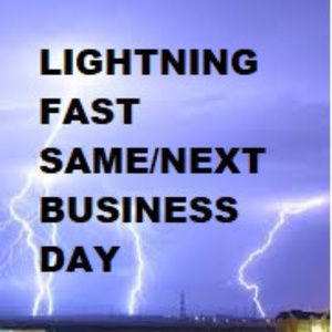 FAST SAME/NEXT BUSINESS DAY SHIPPING & Handling